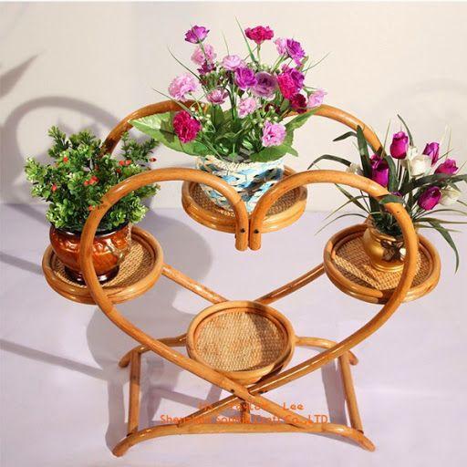 Model Rak Pot Bunga Dan Tanaman Hias Unik Dari Bahan Kayu Dan Besi Rak Pot Bunga Perhiasan Unik Pot Bunga