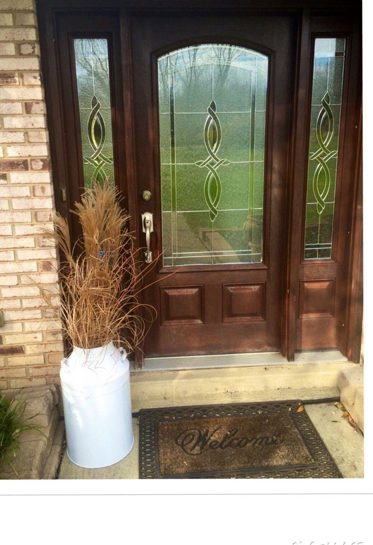 Outdoor decor discount - Outdoor Decor Entry Way Decor Milk Can