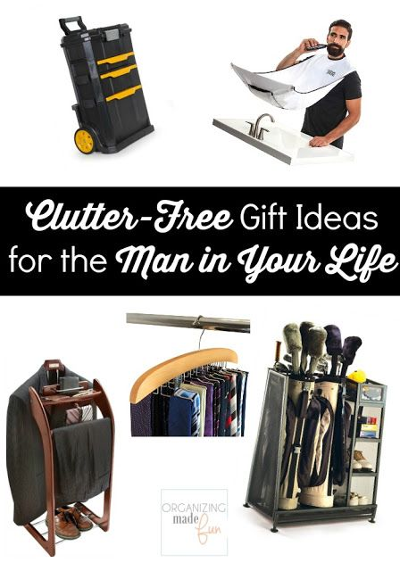 Clutter Free Gift Ideas For The Man In Your Life Free