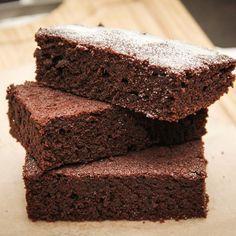 Gâteau au chocolat en poudre facile | Recette | Gateau ...