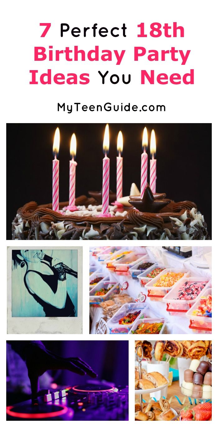 7 perfect 18th birthday party ideas you need for an amazing