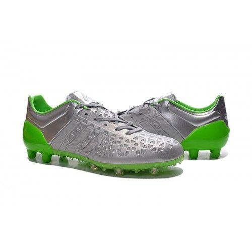 quality design cdd6e 7b78d Buona Adidas ACE 15.1 TPU Argento Verde Scarpe Da Calcio
