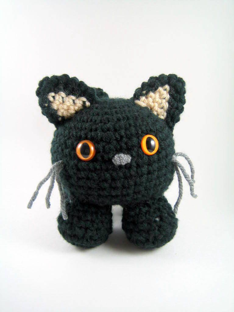 Mugsy, an amigurumi cat - Crochet Pattern - PDF File. $3.75, via ...