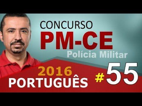 Concurso PM CE 2016 PORTUGUÊS - Polícia Militar do Ceará # 55