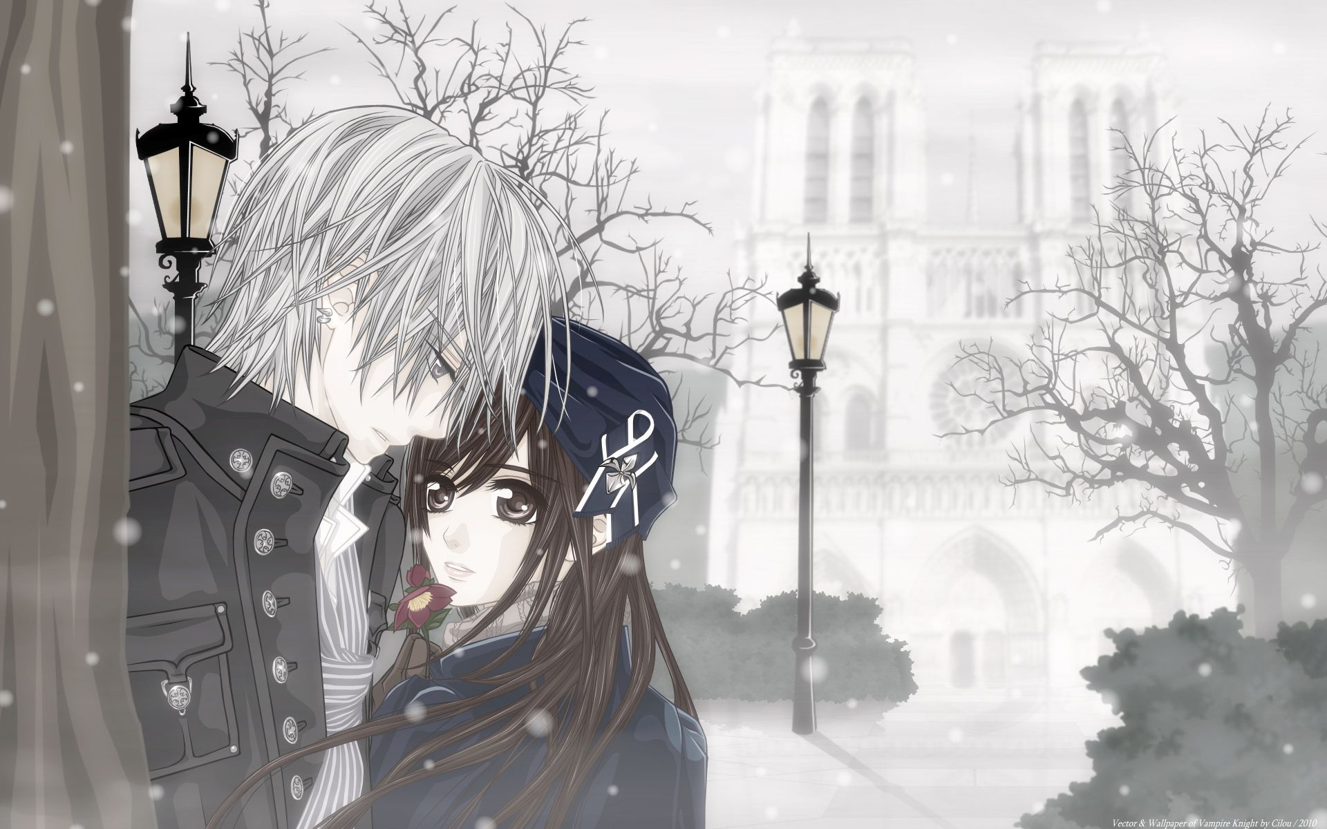 Pin On Vampire Knight Anime vampire wallpapers for android