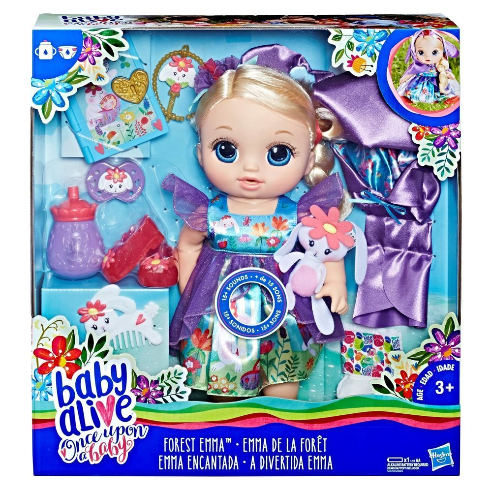 Baby Alive Special Edition Once Upon a Baby Forest Tales Forest Emma Blonde
