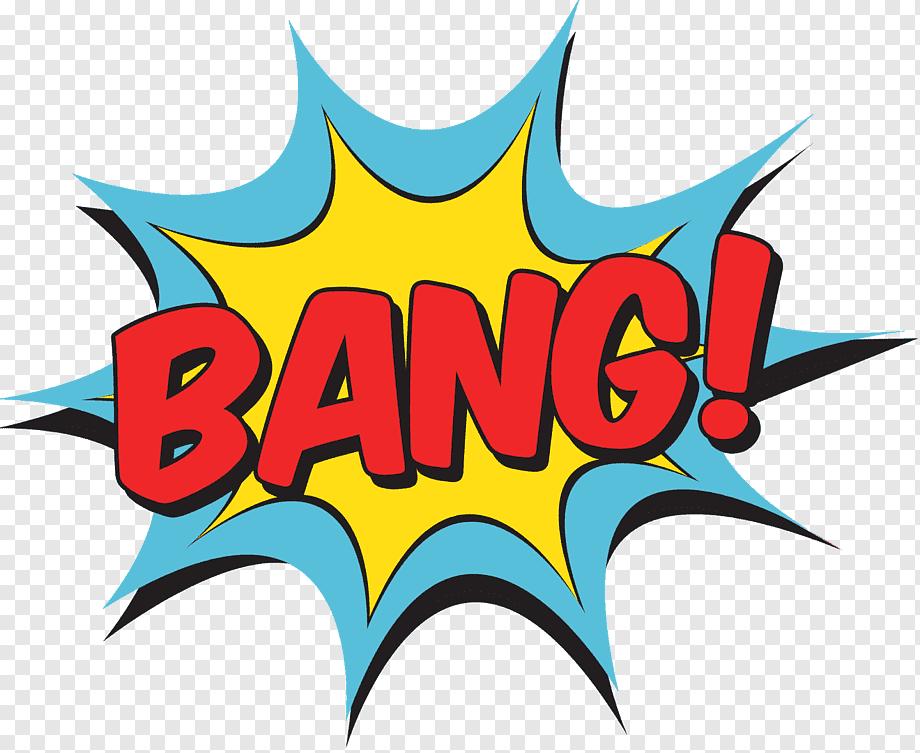 Pow Comic Book Style Comic Book Style Book Logo Loose Crop Top