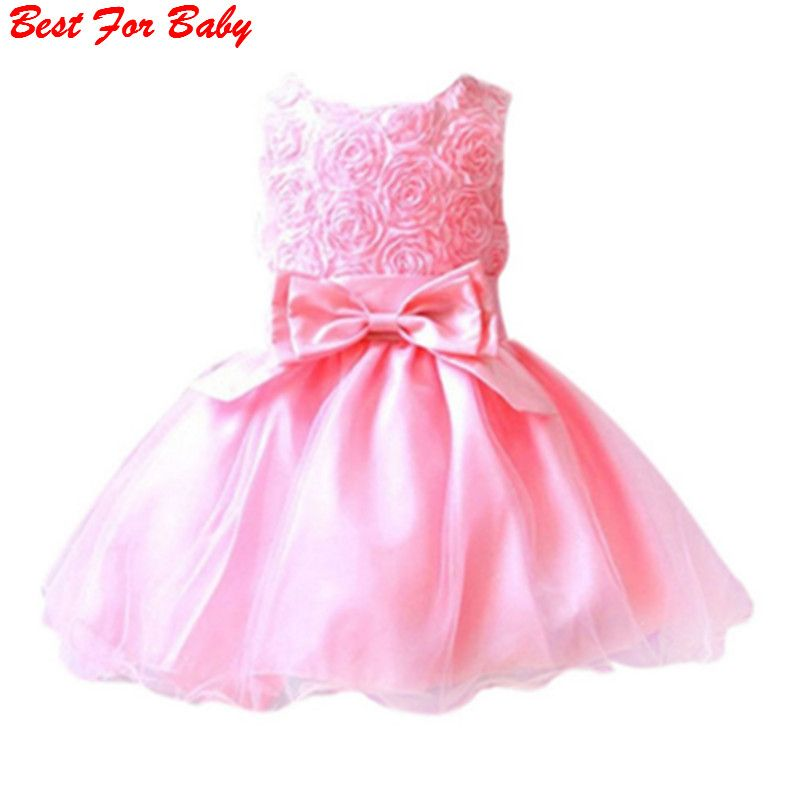 37 Year Summer Baby Girl Dress Birthday Dresses For Infant Princess