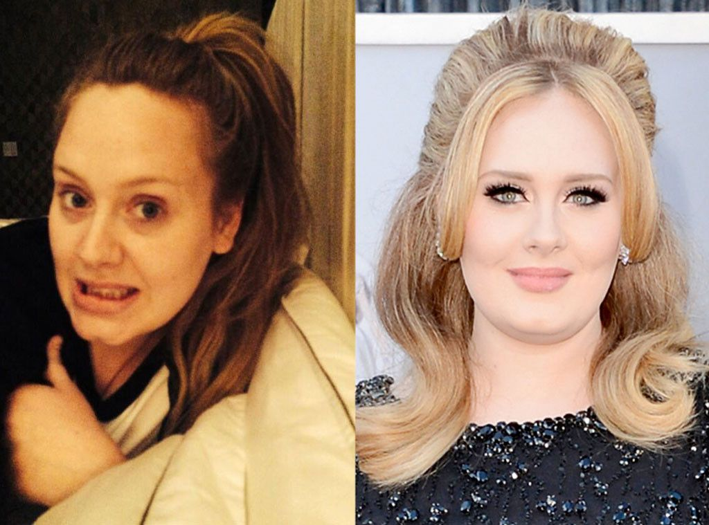 Adele From Stars Without Makeup Without Makeup Adele Without Makeup Makeup