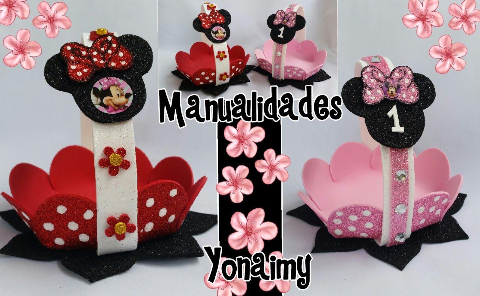 Manualidades Yonaimy Minnie Mickey Atelyeteknoloji Com