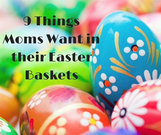 Easter baskets for moms easter baskets easter and chocolate rabbit easter baskets for moms negle Images