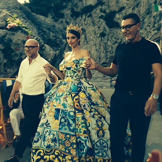 9b8e95d52f Dolce & Gabbana Alta Moda: A couture extravaganza in Capri | Fashion ...
