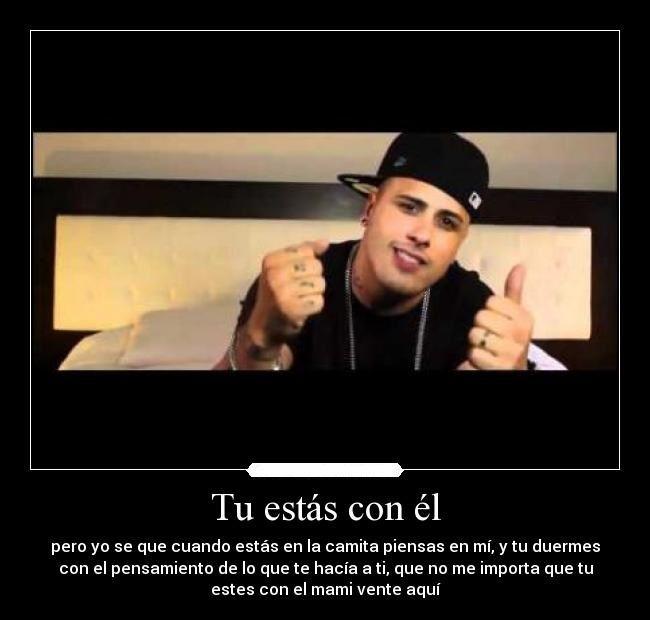 Imagenes De Nicky Jam Con Frases Posando Reggaeton Frases