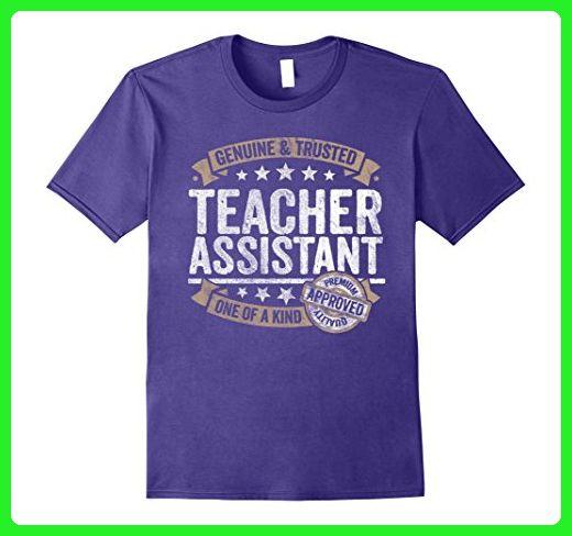 04113e756 Mens Teacher Assistant Gift Trusted Profession Job Tee Shirt 2XL Purple -  Careers professions shirts (*Amazon Partner-Link)