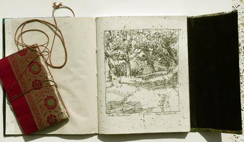bind own sketch books