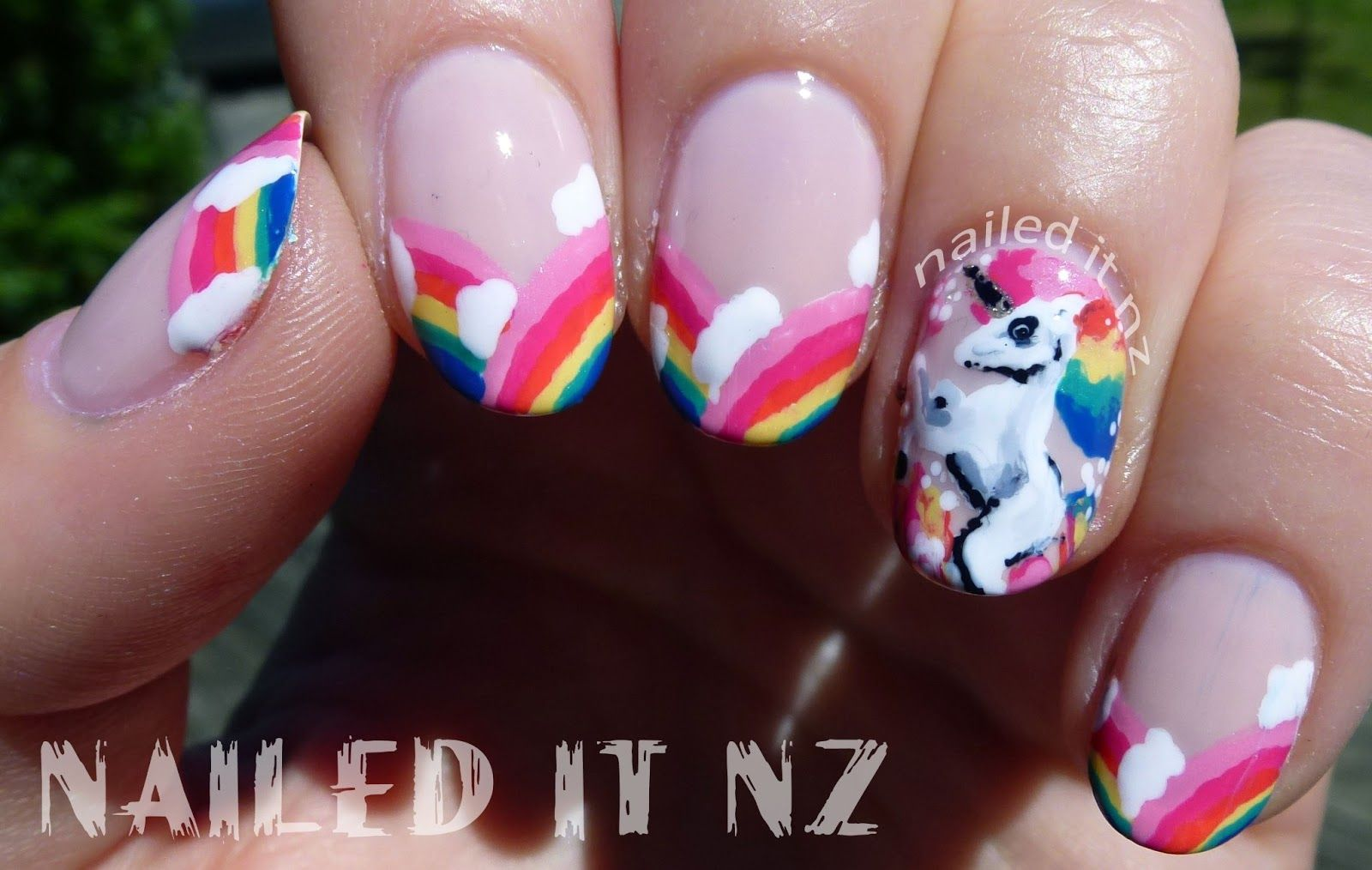 unicorn nails - Google Search | Nail art | Pinterest