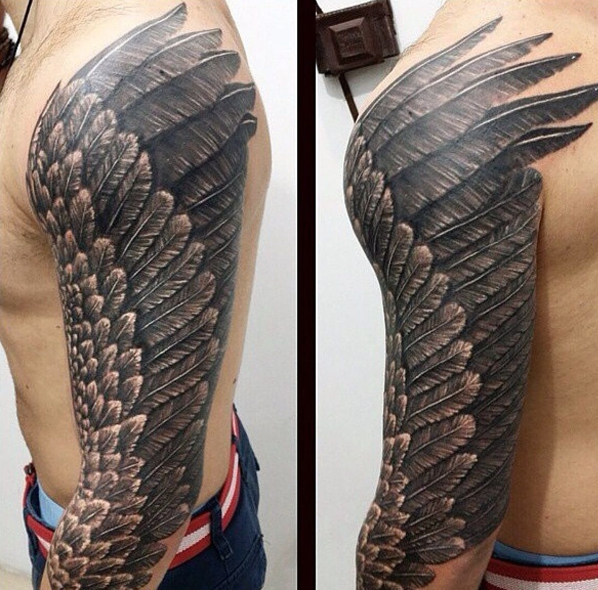 Pin By Mytorius On Believe Tattoo Men: I Believe I Could Fly .........