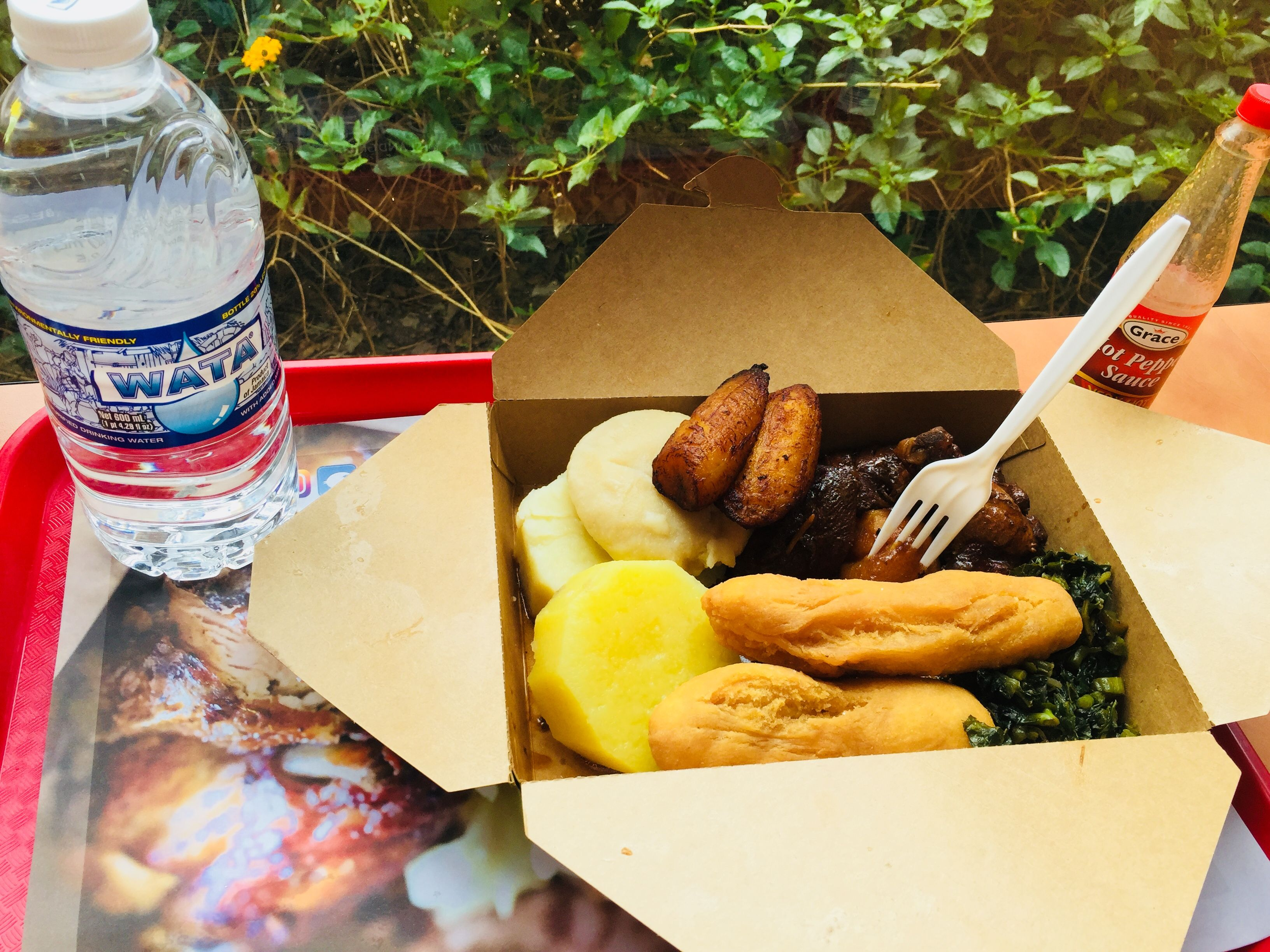 Have A Great Breakfast Before You Fly At Norman Manley International Airport In Kingston Jamaica From Island Gr Jamaican Restaurant Grill Restaurant Restaurant