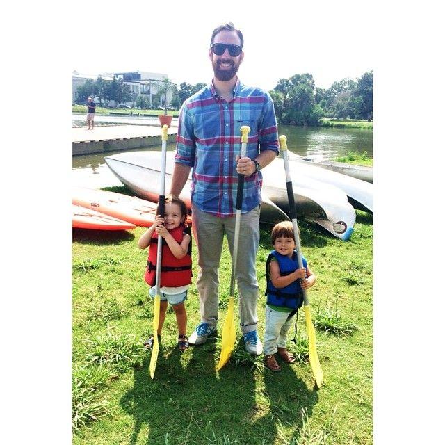 My little canoe-ers!