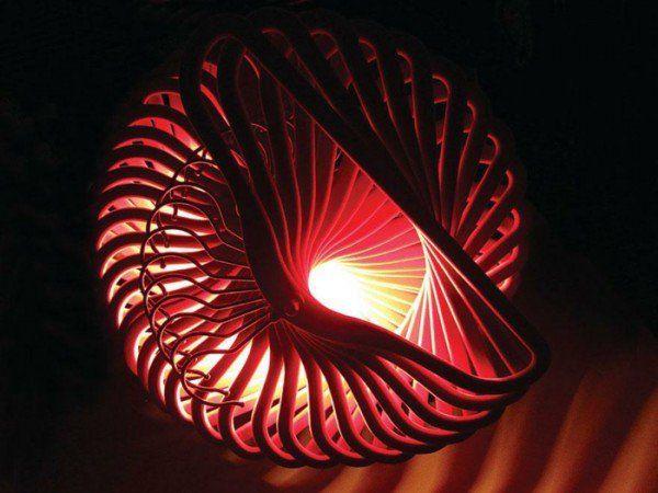designer lampe selber bauen ausgefallene lampen luchten. Black Bedroom Furniture Sets. Home Design Ideas