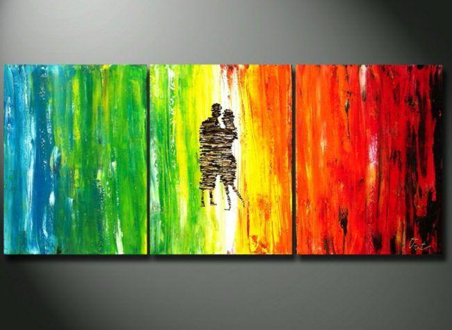 Leinwand Bemalen 37 Schone Bilder Und Motive Zum Malen Mit Acryl