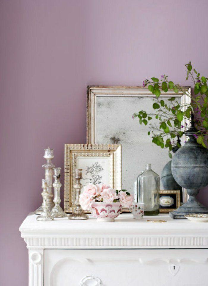 45 id es magnifiques pour l 39 int rieur avec la couleur parme chambre mauve mauve. Black Bedroom Furniture Sets. Home Design Ideas