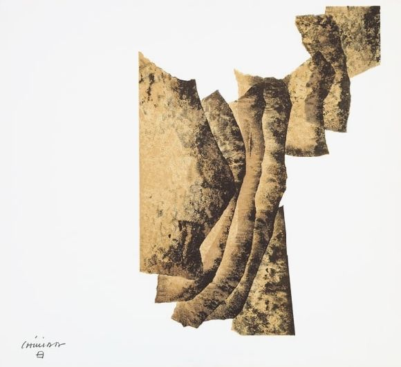 I don't understand it but I want to keeping looking at it---Eduardo Chillida / correlation, 1960