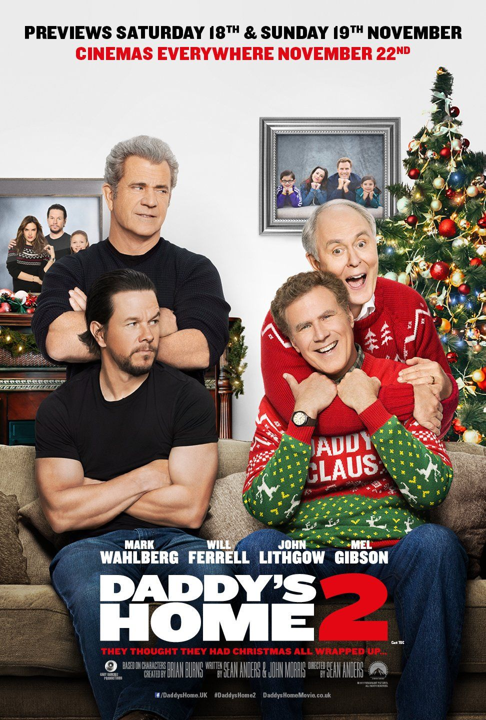 Daddy\'s Home 2 | Mark Wahlberg | Pinterest | Daddy\'s home, Films and ...