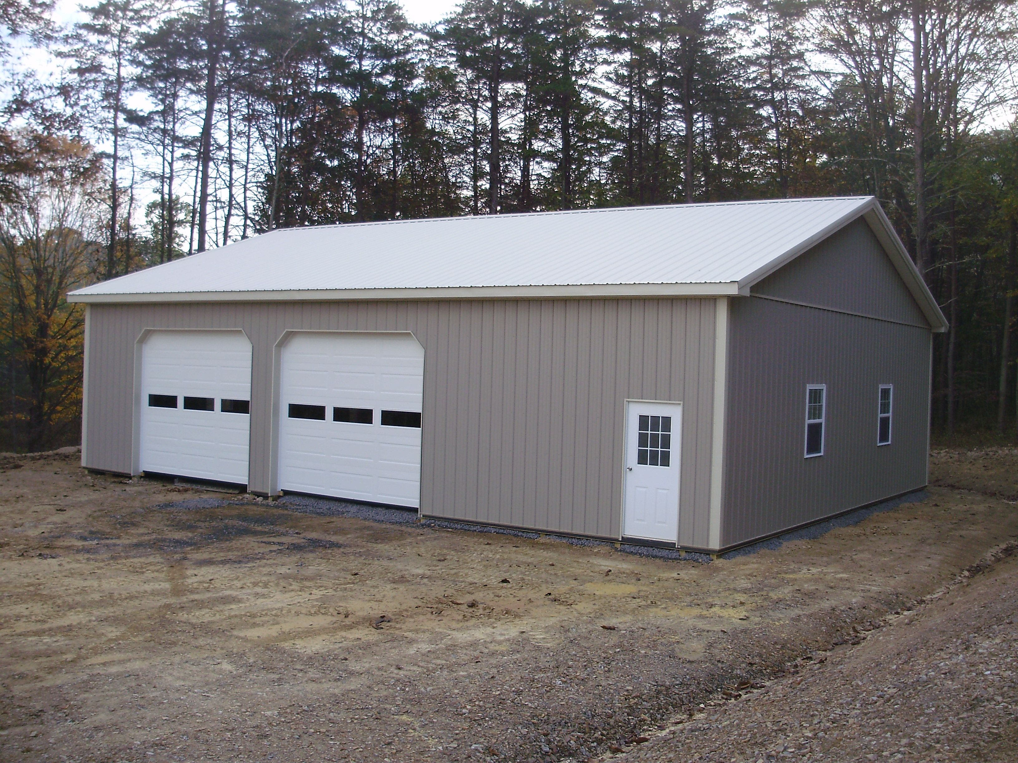 Building dimensions 40 w x 50 l x 12 h id 390 visit for 4 car pole barn