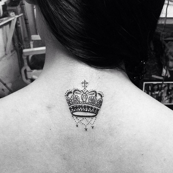 small crown tattoo ink youqueen girly tattoos crown