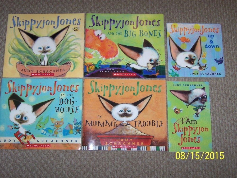 6 teacher class set skippyjon jones picture booksage 37
