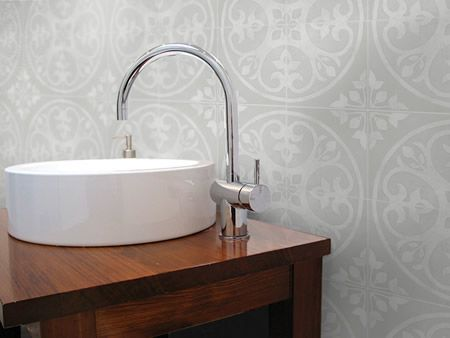 C714 01 bathroom splashback tile Oslo artisan range this as a floor