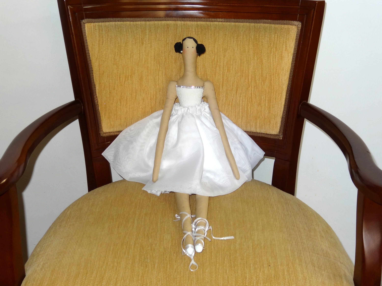 Pin De Cindy Ayala En Mis Muñequitos: Bonecas Tildas: Bailarina