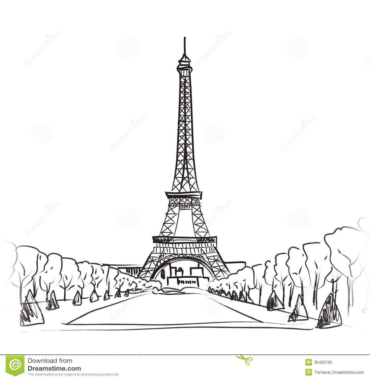 Moulin Rouge Illustration Set. Love Paris Frame Vintage
