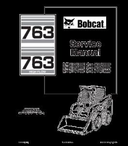 Best download bobcat 763 skid steer loader service repair