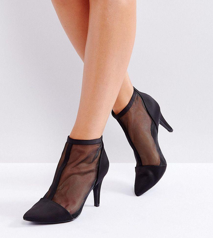New Look Wide Fit Wide Fit High Heel Pumps Damen Braun