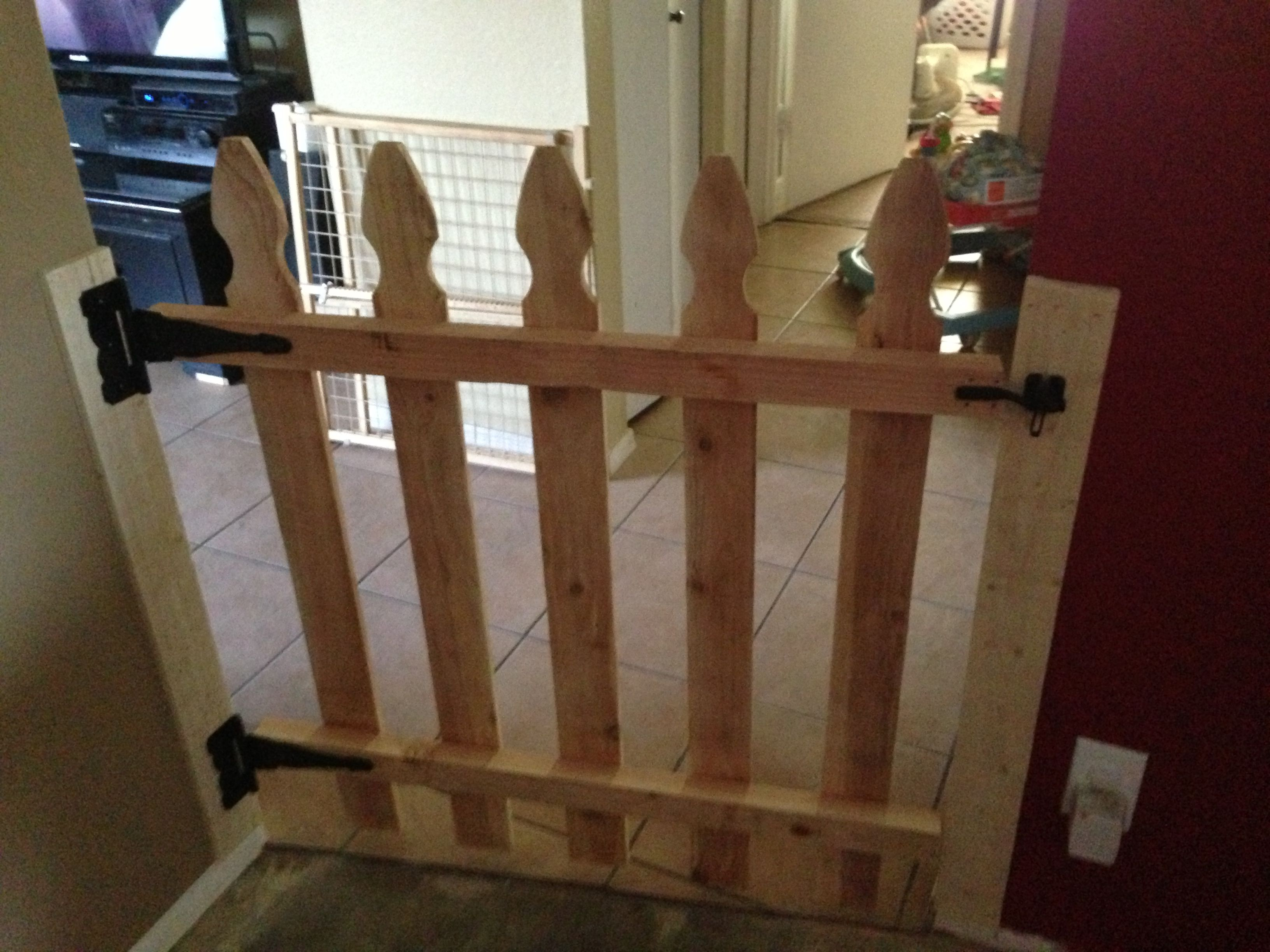 Gate For Stairs Best 20 Wooden Stair Gate Ideas On Pinterest Wooden Pet Gates