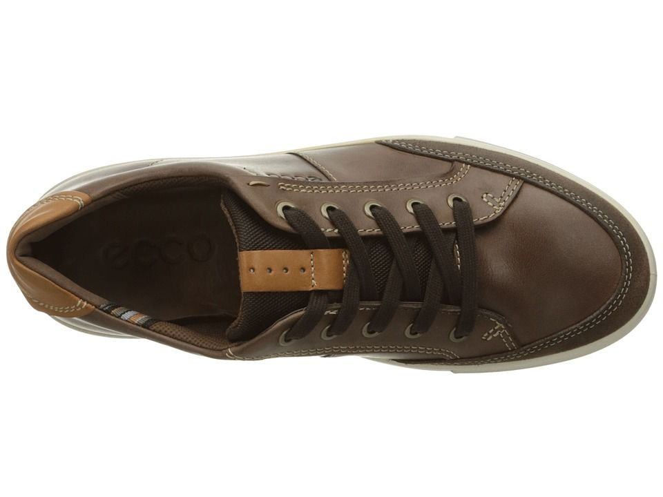 78266f945064 ECCO Kyle Classic Sneaker Men s Lace up casual Shoes Cocoa Brown Cocoa Brown