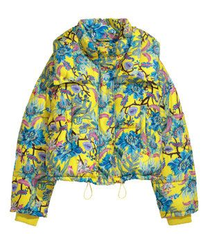 630cf7175 H&M Winter Floral Puffer Jacket - $129 | Keep it Icy: Winter Coats ...