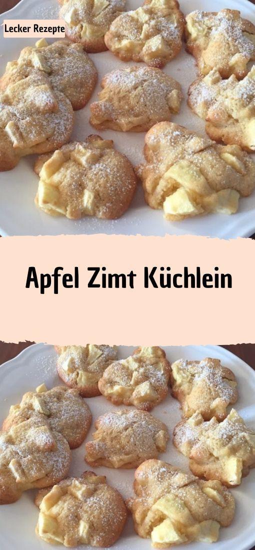 Apfel Zimt Küchlein