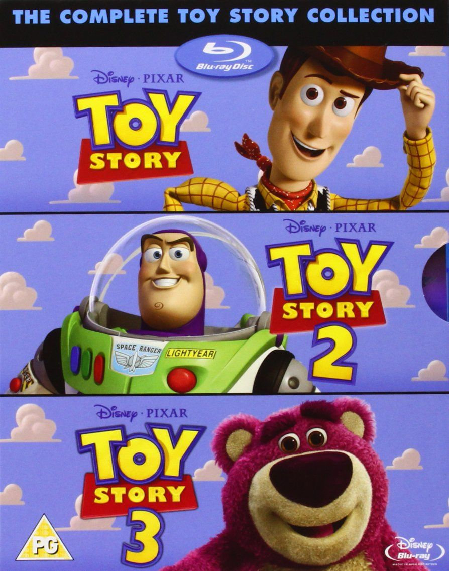 Toy Story 1 3 Box Set Blu Ray Uk Import Toy Story Movie Toy Story 1995 Toy Story