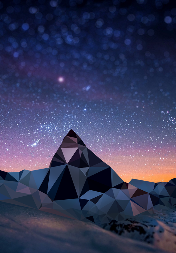 low poly iphone wallpaper  Low Poly Mountains // Personal Project on Behance | geometry ...