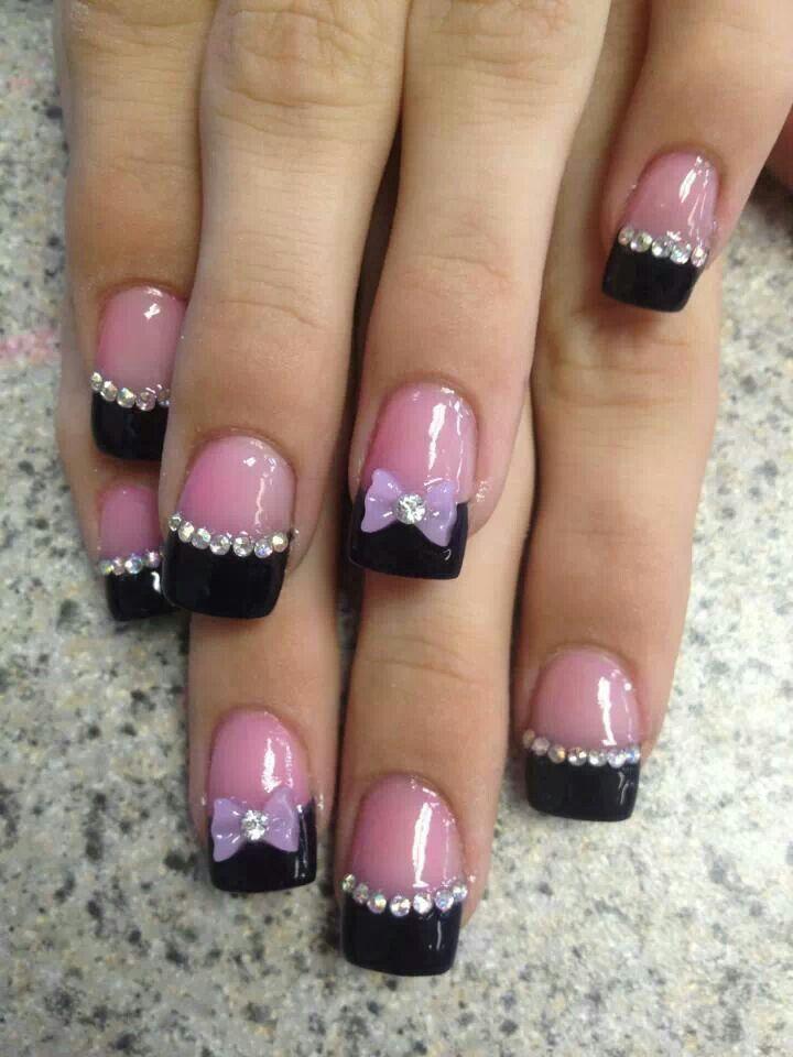 Fácil e sofisticado   Diseño de uñas   Pinterest   Cuidado de las ...