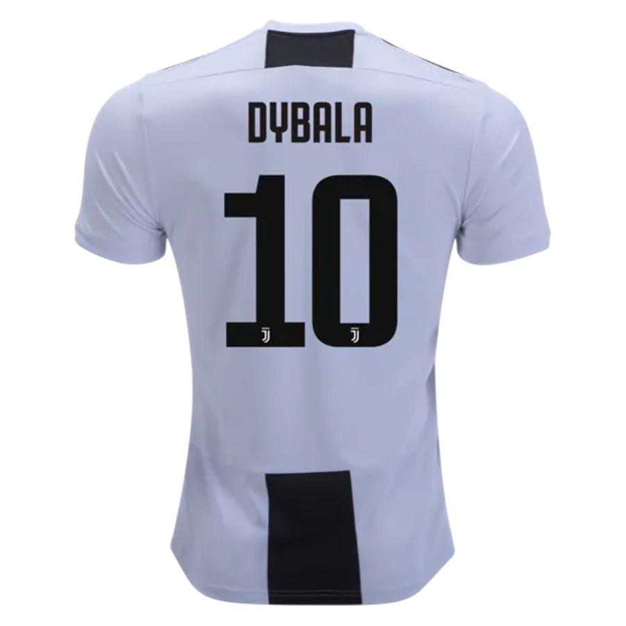 494f43cf0 Juventus 18 19 Home Men Soccer Jersey DYBALA  10