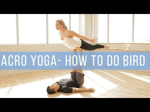 beginner acro yoga how to base and fly front plank and