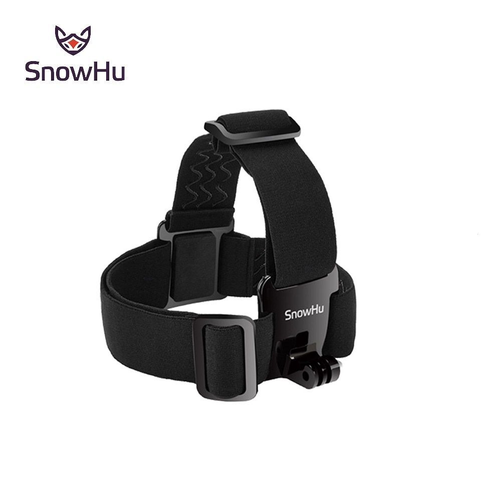 Snowhu For Head Strap Mount For Gopro Hero 7 6 5 4 3 Xiaomi Yi 4k Action Camera For Eken H9 Sjcam For Go Pro Accessories Gp23 Gopro Kamera Coole Gadgets