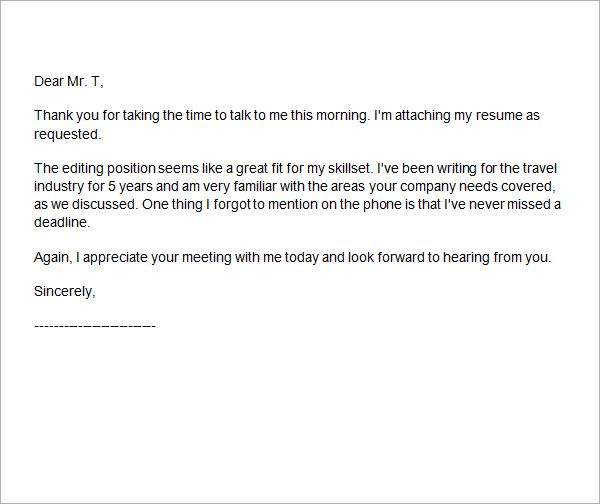 Phone Interview Thank You Letter | Career | Pinterest | Personal