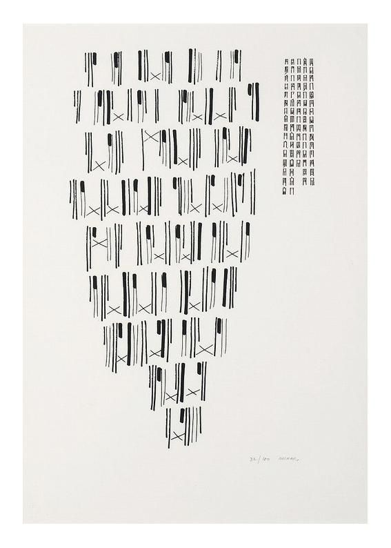 An illegible #TypeSystemGrid by Munari – 1970  via @caroSCR
