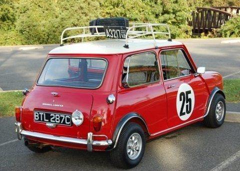 1965 Morris Cooper Mk1 S Rally Morris Mini Mini Morris Mini