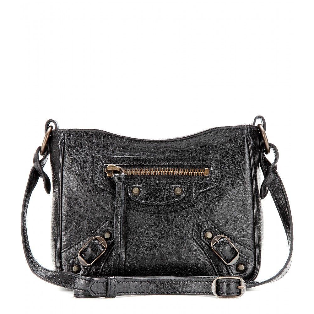 vapaa ajan kenkiä klassinen tyyli näyttää hyvältä kengät myynti mytheresa.com - Classic Date leather shoulder bag - Bags ...